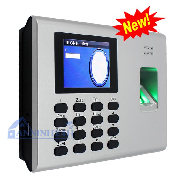 Máy chấm công vân tay và thẻ cảm ứng RONALD JACK DG-600ID