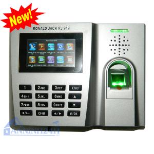 Máy chấm công vân tay và thẻ cảm ứng RONALD JACK RJ 919